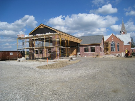 Church Building Project Narthex