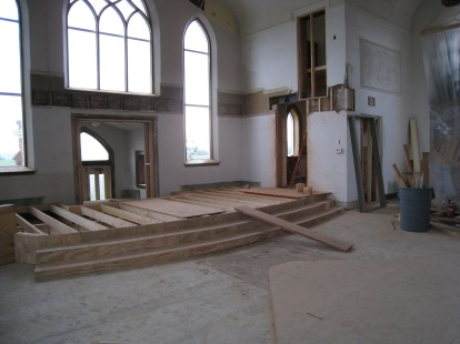 Church Building Project sanctuary 1