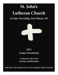 Lenten Devotional - 2015